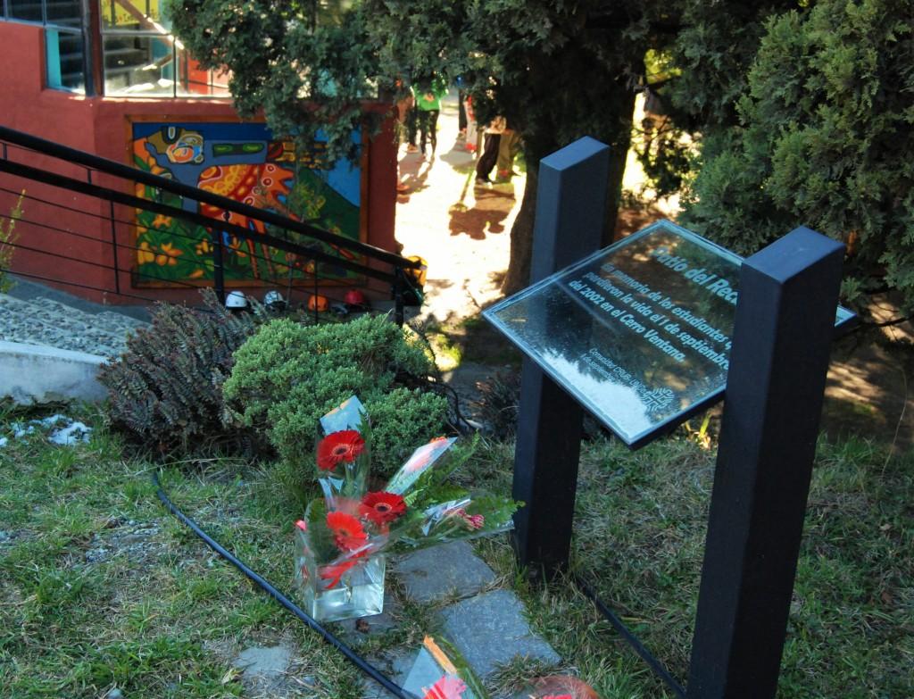 Patio del Recuerdo - UNCo Bariloche