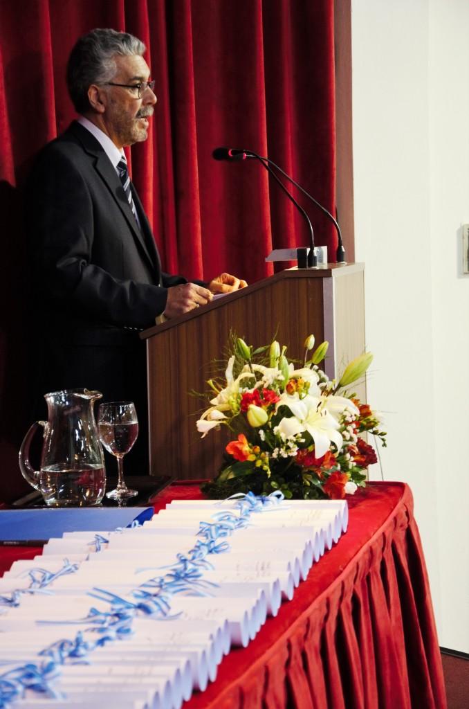 Decano Mg. Víctor Baez