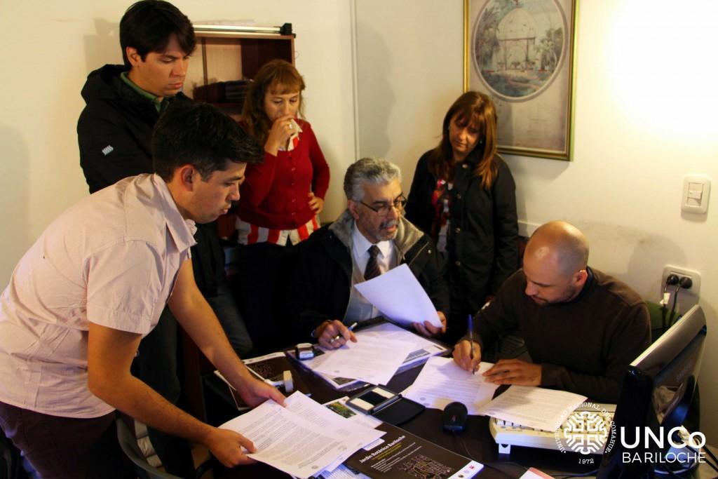 Foto convenio Vivero
