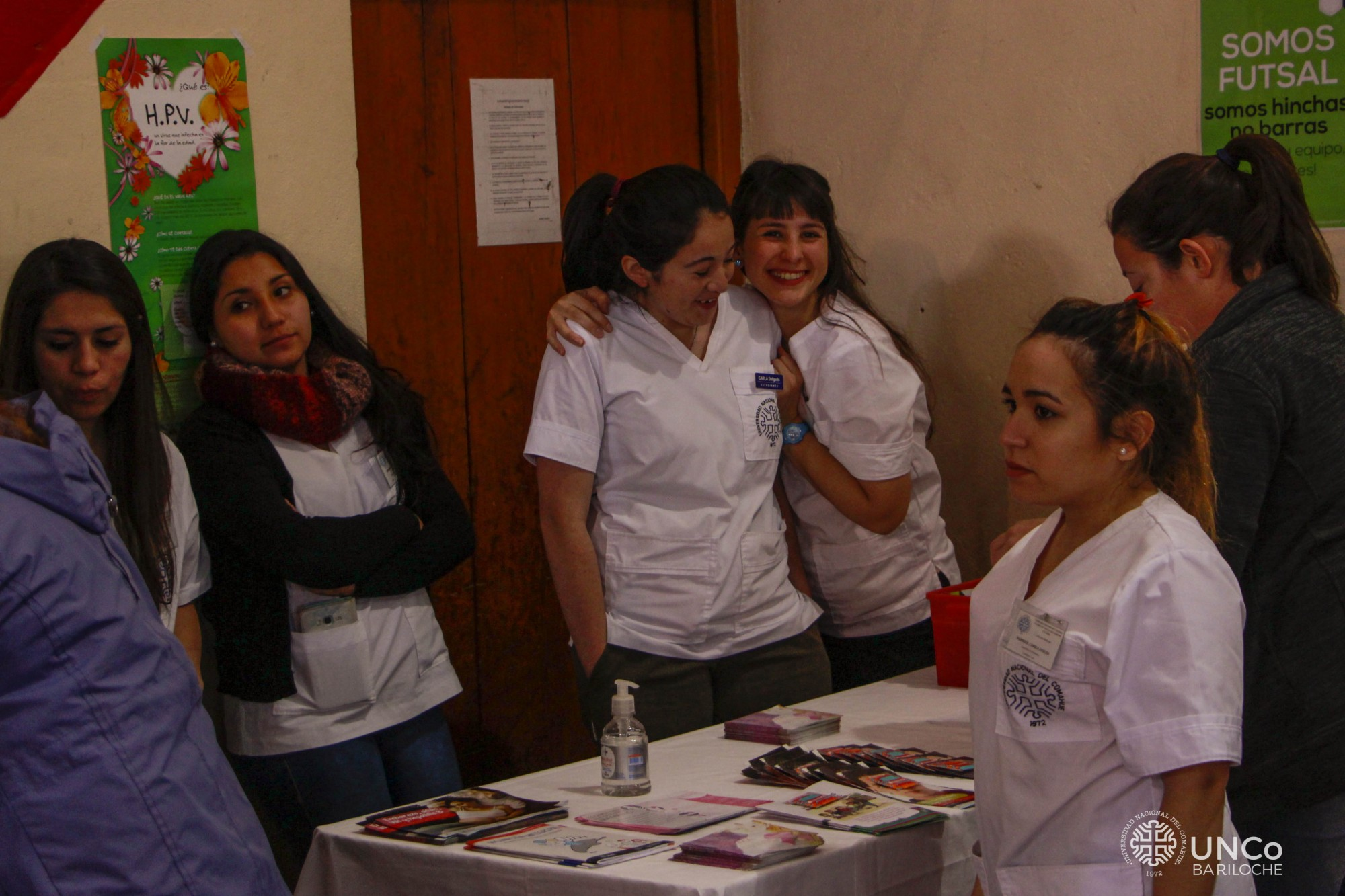 Posta de Salud en el Club Estudiantes