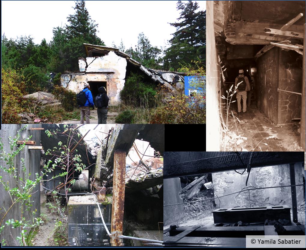 Imágenes del exterior e interior del Laboratorio del Dr. Richrter