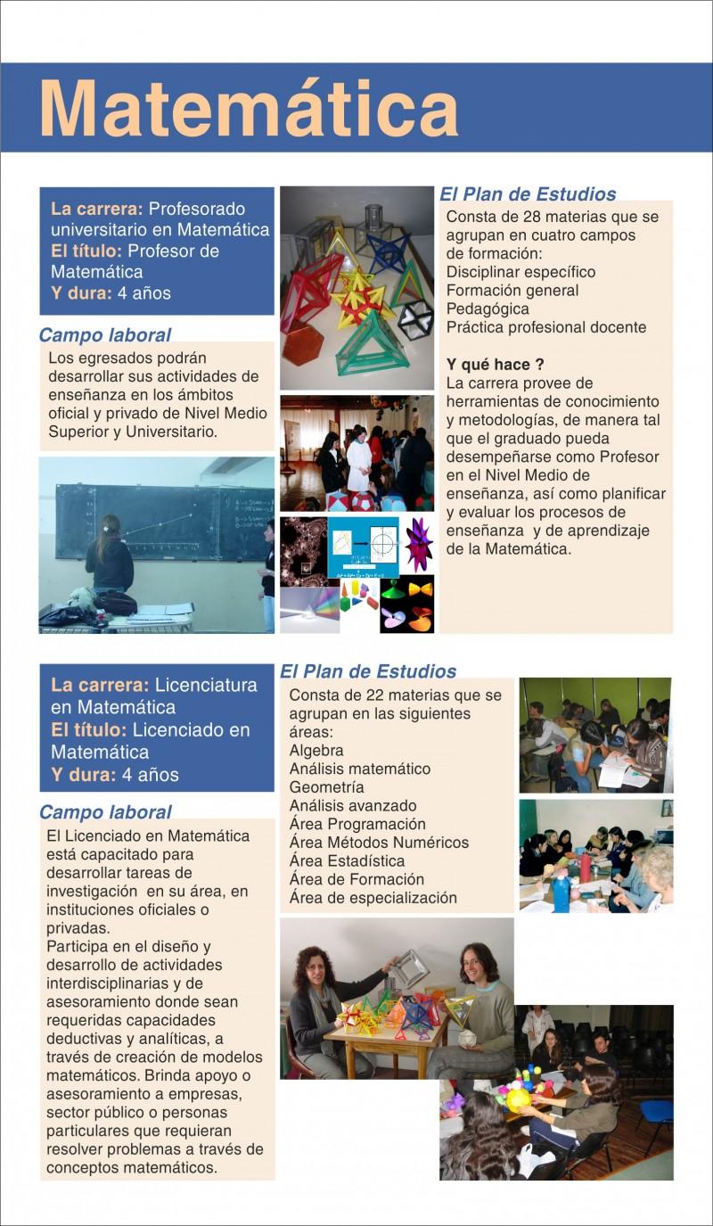MATEMÁTICA   Centro Regional Universitario Bariloche