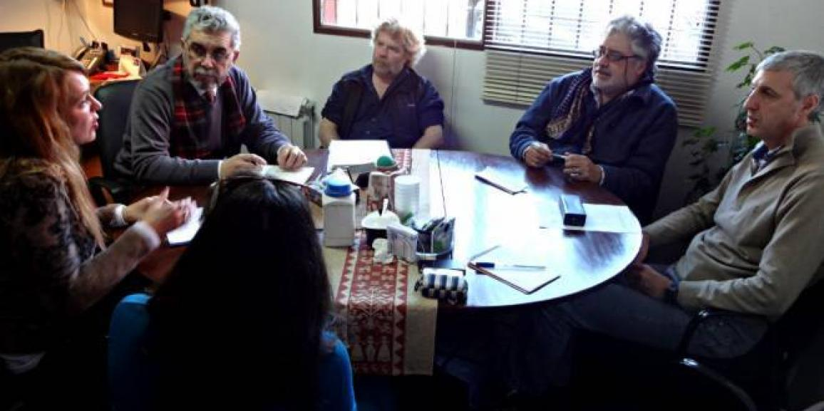 Defensora se reunió con referentes del CRUB y el DPA por el Ñireco