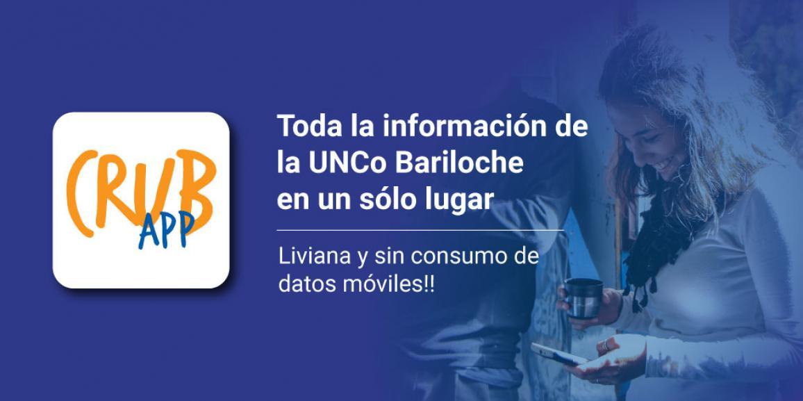 La Comunidad UNCo Bariloche ya tiene su App!