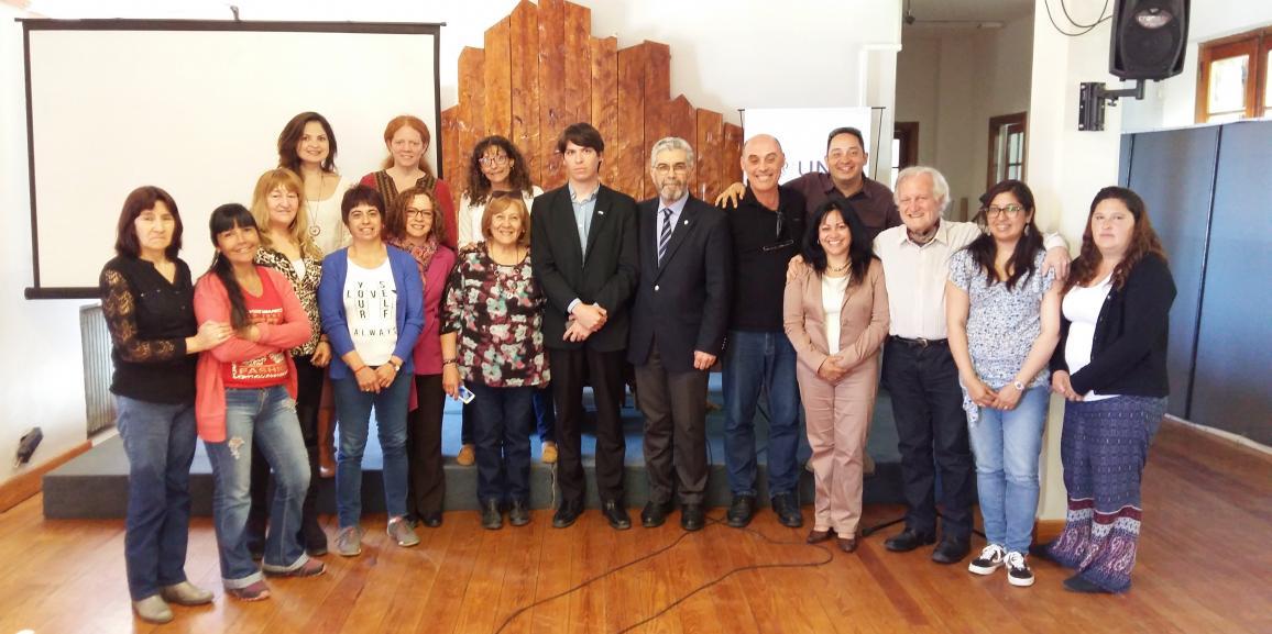 Se desarrolló en Bariloche el 1° Seminario Internacional sobre políticas de Estado para Personas Mayores