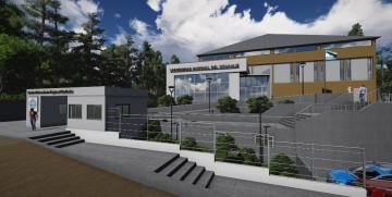 Entró en licitación la construcción del Gimnasio para la UNCo Bariloche