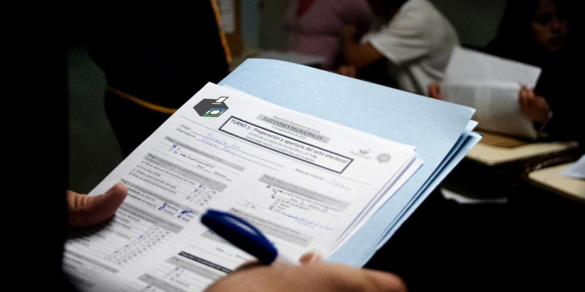 Con aportes del Observatorio Electoral se mejoró la instancia de votación local