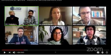 """Se inauguró la """"Muestra de Carreras Bariloche 2020"""" con una conferencia de prensa virtual"""