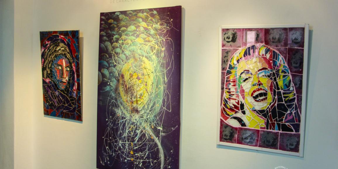 Exposición de la artista plástica Verónica Goncalves en la UNCo Bariloche