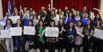 Con alegría se celebró el 144° Acto de Colación en la UNCo Bariloche