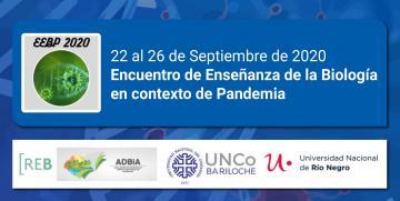 Encuentro de Enseñanza de la Biología en contexto de Pandemia