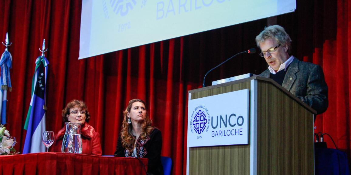 Acto de asunción de autoridades del CRUB – UNCo Bariloche