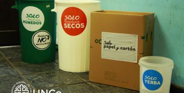 """Lanzamiento de la campaña """"La UNCo Bariloche recicla"""" – 4 de abril"""