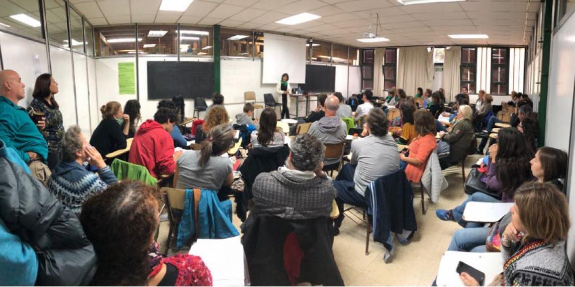 Concurrida charla sobre la Reforma Universitaria en la UNCo Bariloche