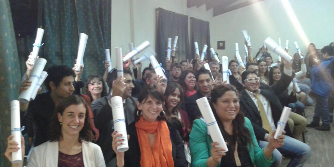Nuevos graduados de la UNCo Bariloche