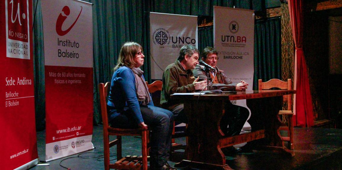 A 100 años de la Reforma universitaria: se realizó una charla debate en Bariloche