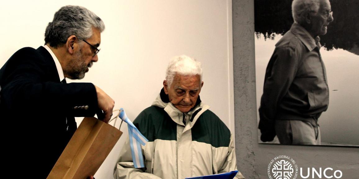Se inauguró nueva sala con el homenaje a Pancho de Haro