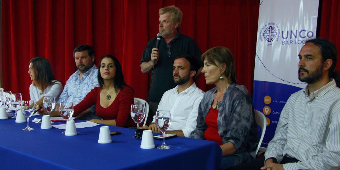 Se reunió en la UNCo Bariloche la Comisión de DDHH de la Cámara de Diputados