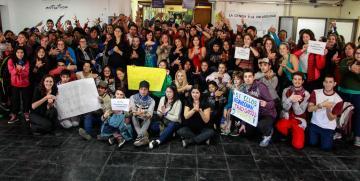 La comunidad de la UNCo Bariloche acompañó a sus estudiantes sordos