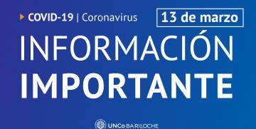 Información actualizada y recomendaciones sobre el Coronavirus
