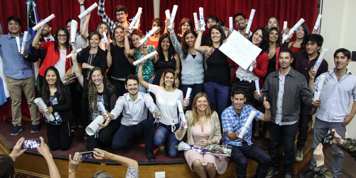 Este año se entregaron más de 200 títulos en en la UNCo Bariloche