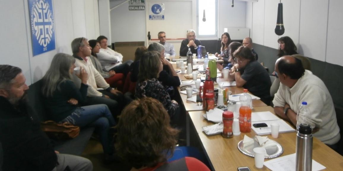 El rector y vicerrector de la UNCo en Bariloche
