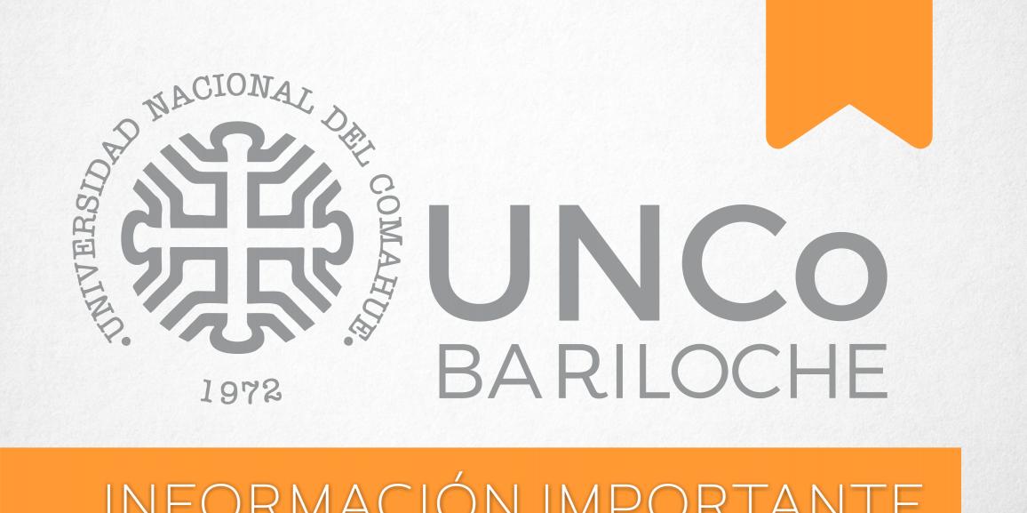 Boletín de noticias institucionales UNCo Bariloche