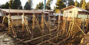 Avanzan obras de ampliación en la UNCo Bariloche