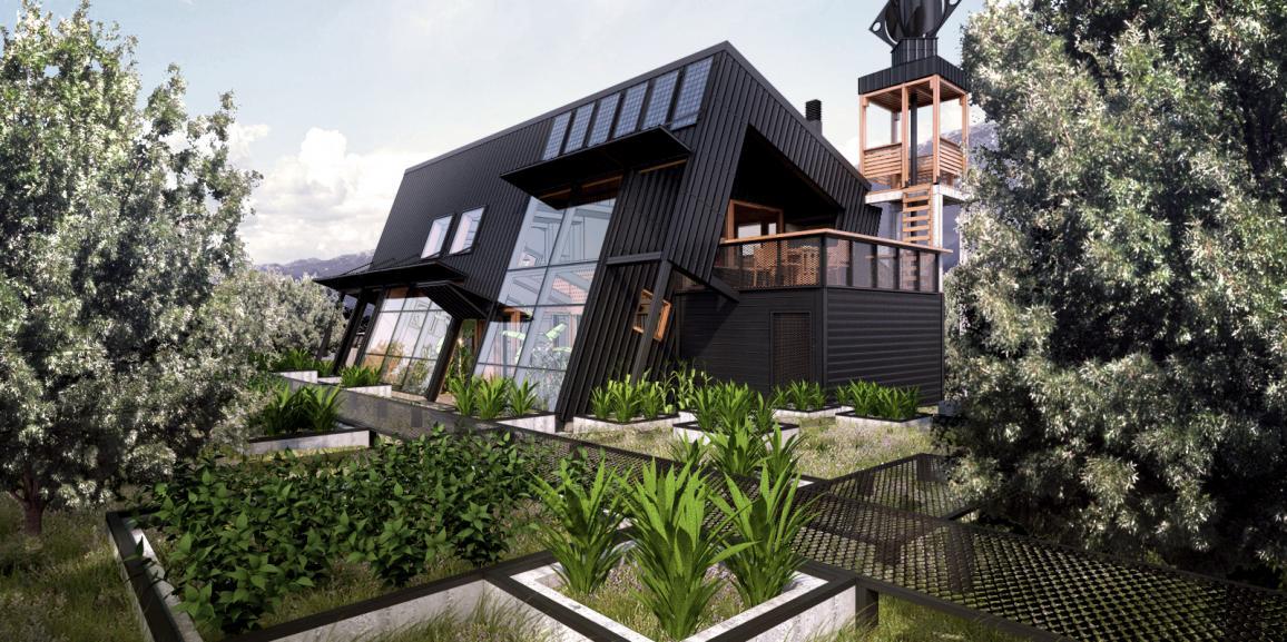 Docente UNCo-Bariloche fue galardonado con el Premio de Arquitectura y Hábitat Sustentable
